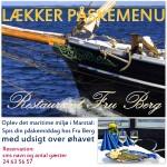 Påskeferie på Ærø - Restaurant Fru Berg, Marstal