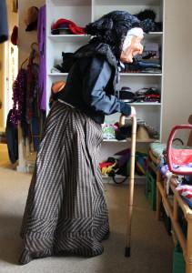 Udklædning til fastelavn på Ærø - at rende maske - traditioner på Ærø