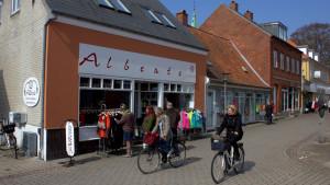 Butik Alberte, Marstal - Foto Bjørg Kiær