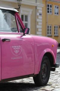 Danish Island Wedding - bryllupsbil - Foto Bjørg Kiær
