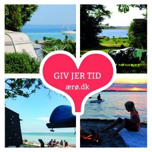 GIV JER TID - camping forside