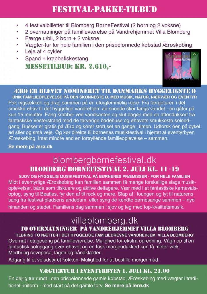 Blomberg Børnefestival Messetilbud 20162