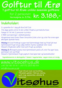 Vitsøhus print - messetilbud - golf - wellness4