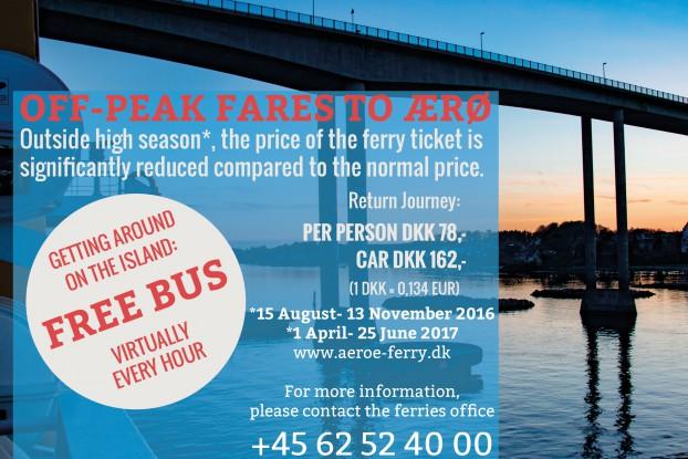 Off-Peak ferry tickets to Ærø